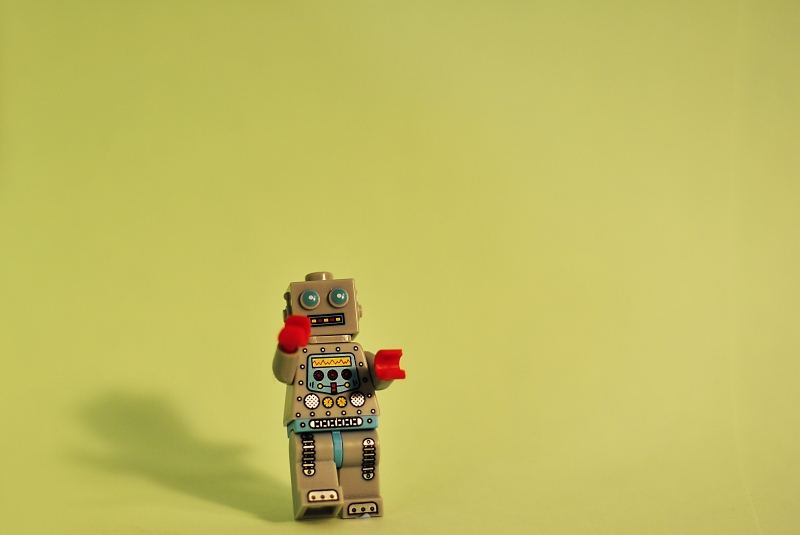 Small robot walking