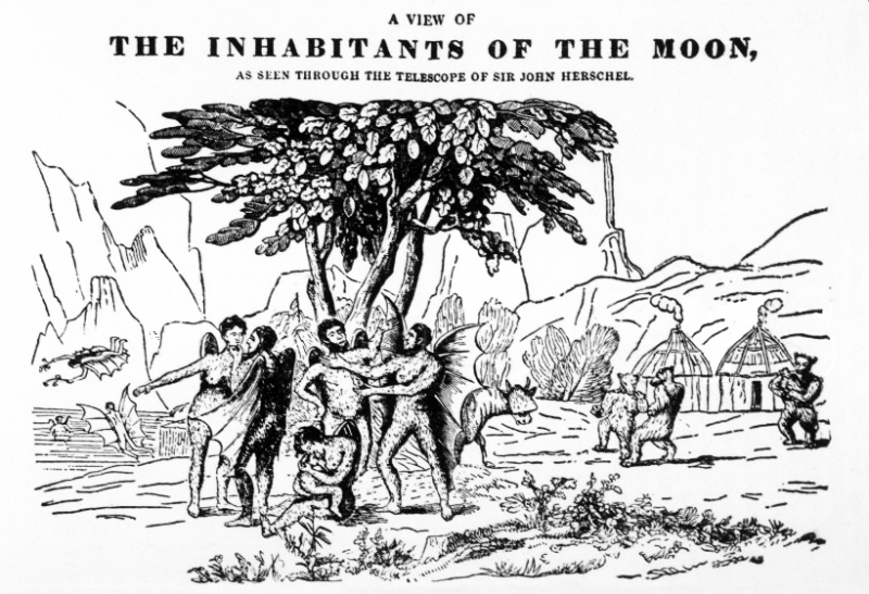 The Inhabitants of the Moon