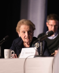 Secretary Albright at Public Dialogue