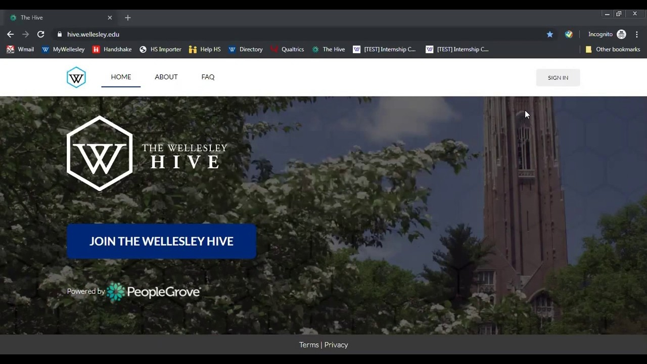 Introduction to The Wellesley Hive (September 17, 2019 Webinar)