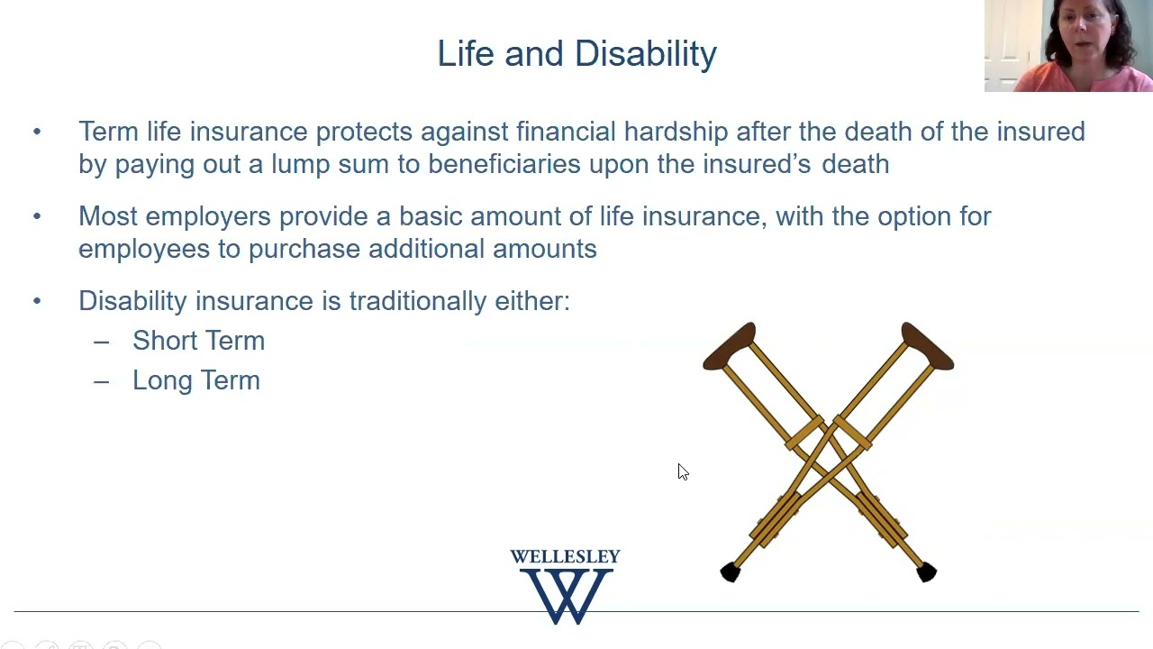 Benefits & Compensation Considerations in a Job Search (Life After Wellesley 2021)