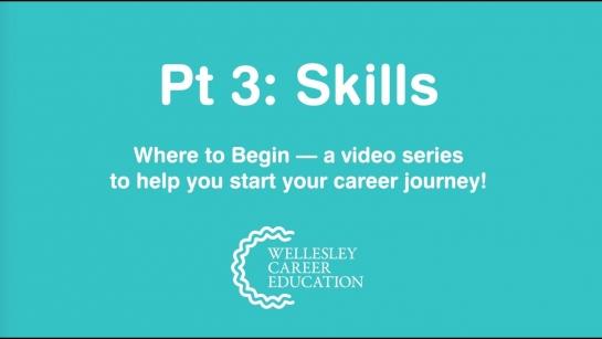 Skills (Where to Begin, Part 3)