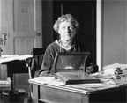 Annie Jump Cannon at Harvard Observatory; Smithsonian Archives