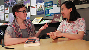 Margaret McClure '15 and Wenyan Deng '15