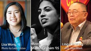 Lisa Wong, Meera Mohan-Graham '05, Ling-Chi Wang