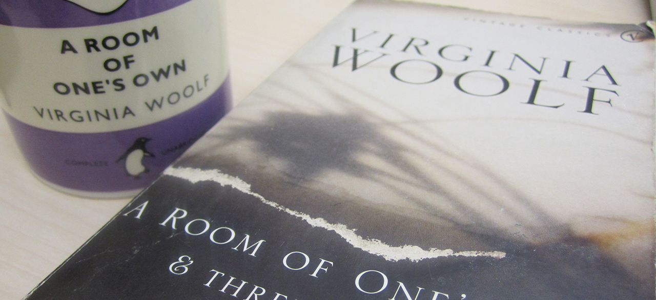 A Copy of Virginia Woolf's A Room of One's Own