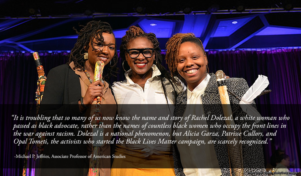 Alicia Garza, Patrisse Cullors, and Opal Tometi, founders of the Black Lives Matter movement