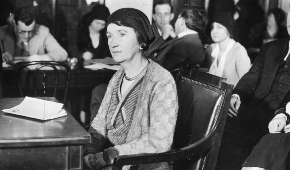 An old photo of Planned Parenthood Founder Margaret Sanger