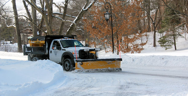 Wellesley snow plow