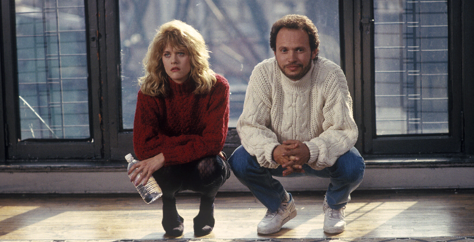 screen grab from When Harry Met Sally