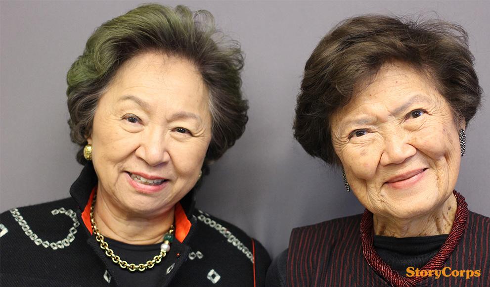 StoryCorps: Shirley Young '55 and Marylin Chou '55