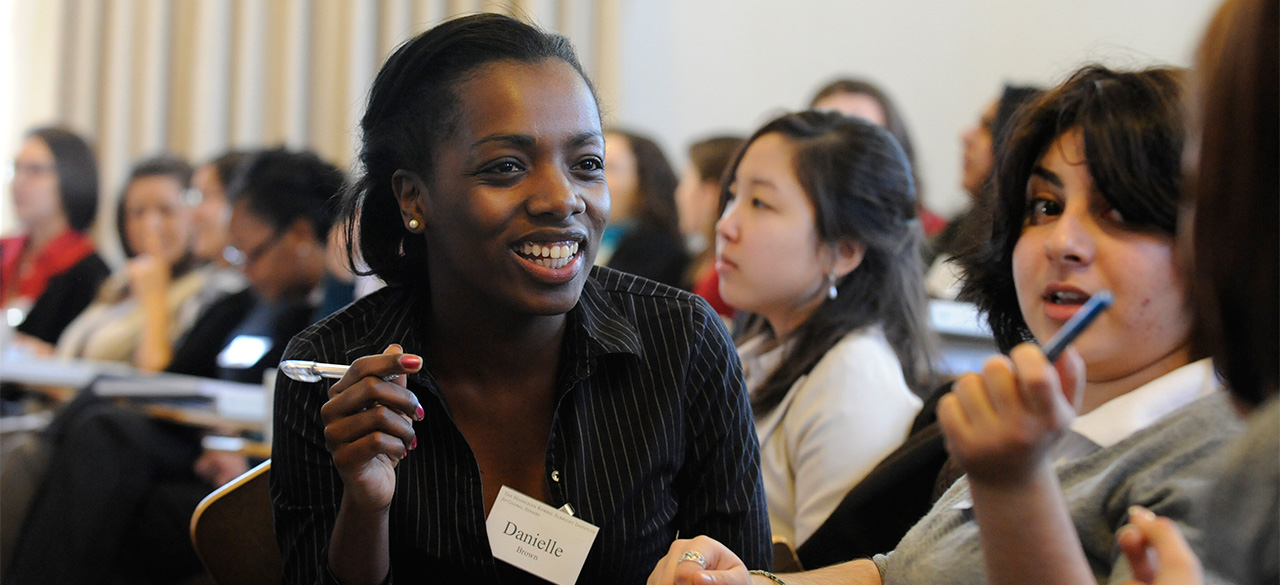 Wellesley Students at the 2010 Albright Institute