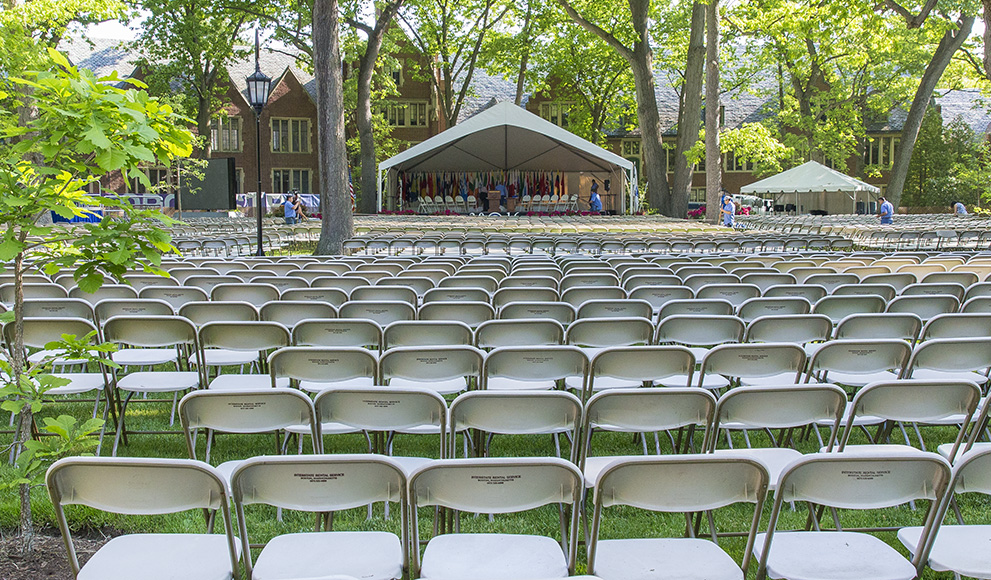 The academic quad is set and ready to welcome the Class of 2016