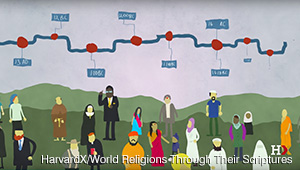 An image from the HarvardX XSeries World Religions Through Their Scriptures