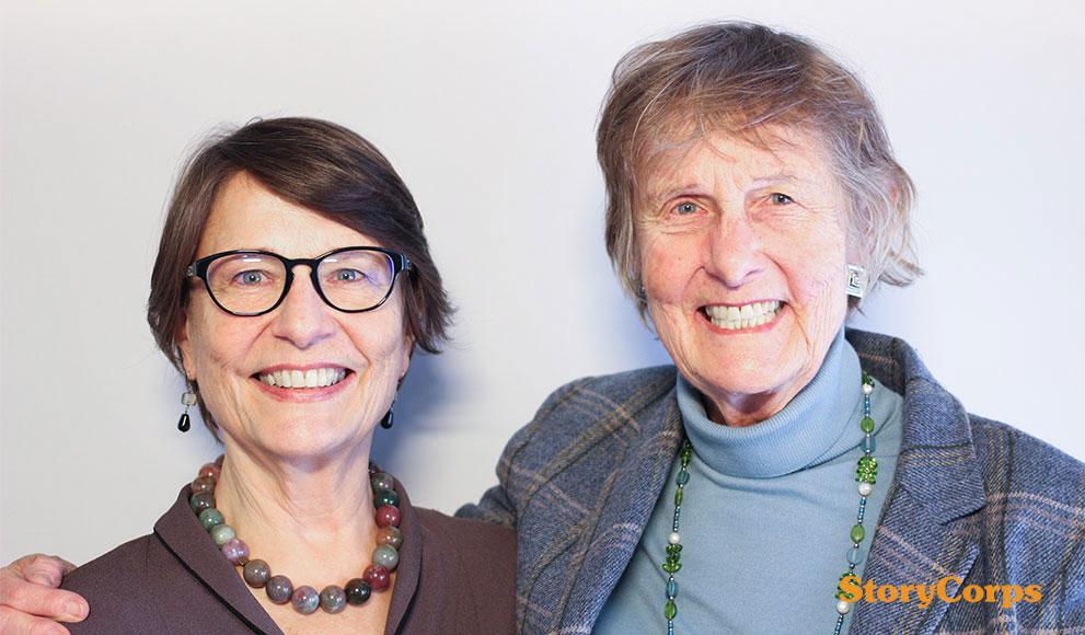 StoryCorps: Nan Keohane '61 and Geneva Overholser '70