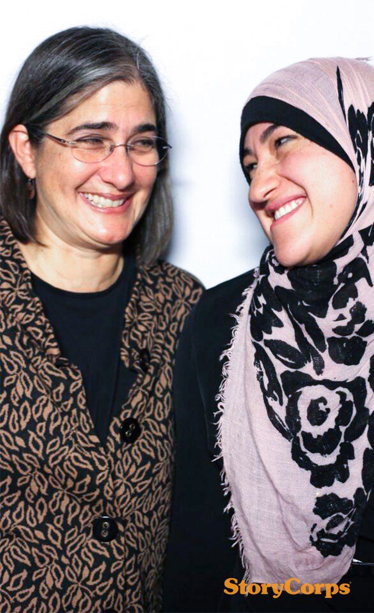 StoryCorps: Kristina Niovi Jones and Nisreen Abo-Sido '18