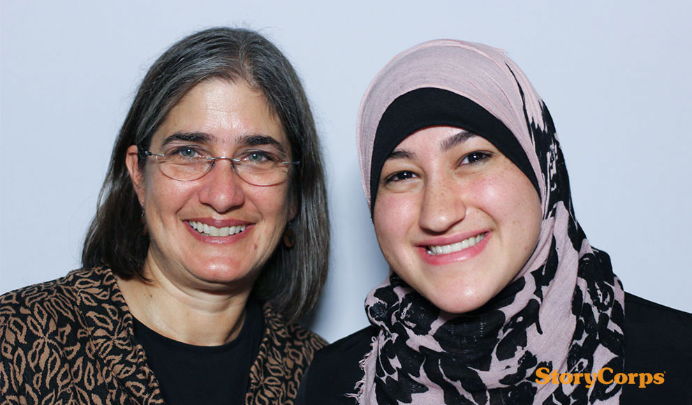 StoryCorps: Kristina Niovi Jones and Nisreen Abo-Sido '18