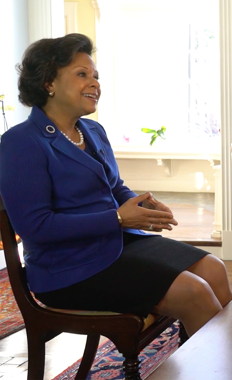 Dr. Paula A. Johnson, Wellesley's 14th President