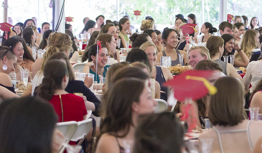Class of 2016 Gathers for Senior Class Luncheon