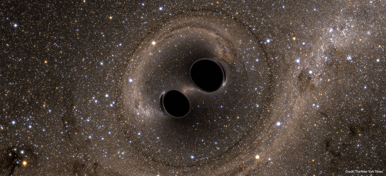 Scientists Detect Gravitational Waves As Black Holes Collide