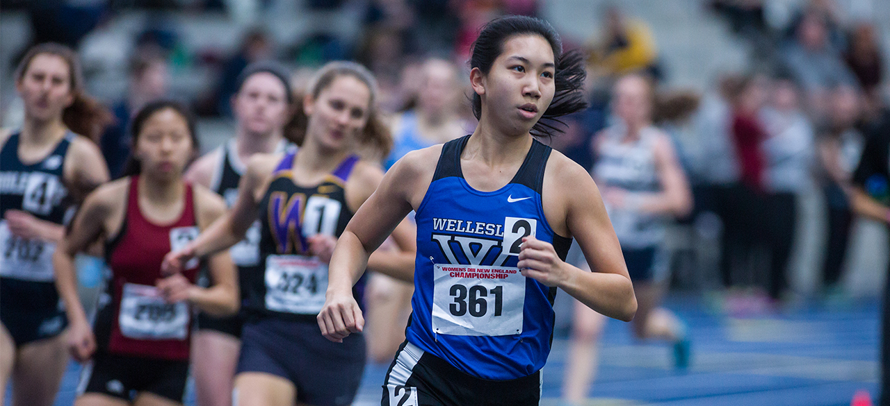 Sharon Ng '16 competes at the NCAA Indoor national championship
