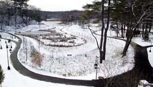 alumnae valley in winter