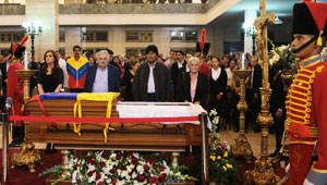 Chavez lying in state- CNN photo