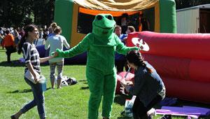 SBOG Frog at Lake Day