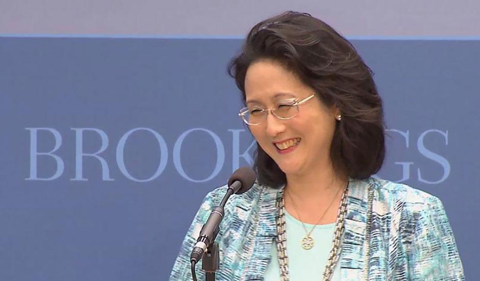 Kathy Moon at Brookings