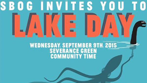 Lake Day 2015 poster