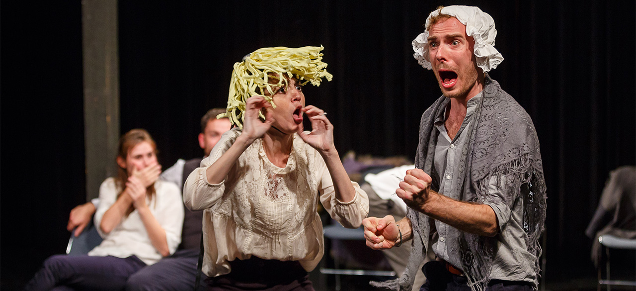 Actors From The London Stage Perform Shakespeare's Beloved Comedy A Midsummer Night's Dream
