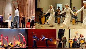 montage: diverse Wellesley dance troupes