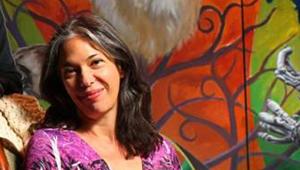Melinda Lopez. Photo by Boston Globe staff.