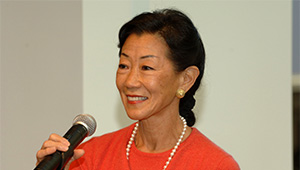 Lulu Chow Wang '66 is this year's Commencement speaker.