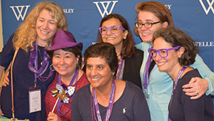 Alumnae pose for a photo during Reunion 2016