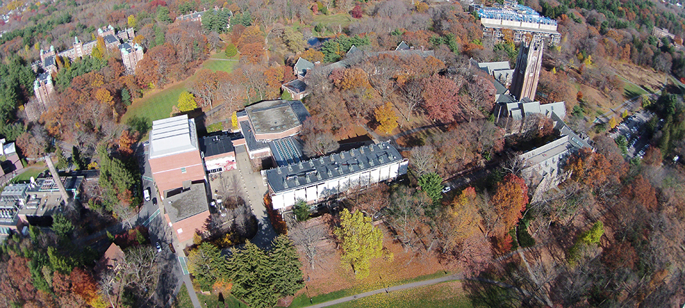 Wellesley College aerial photo