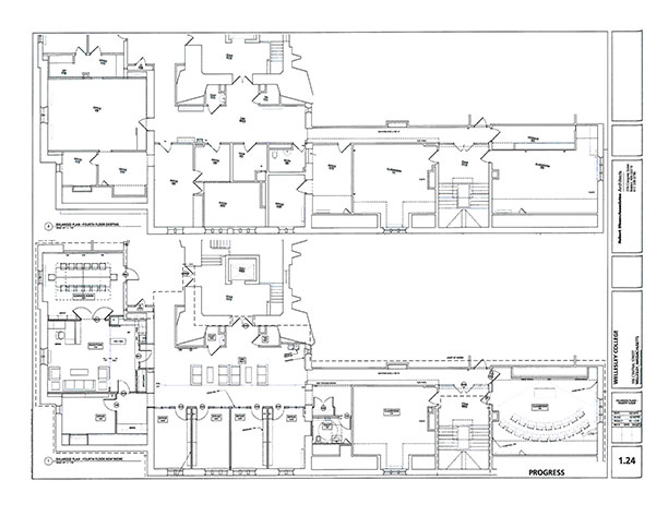 Fourth floor Founders plan