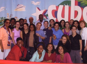 wintersession students in Cuba