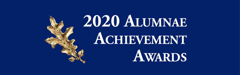 Alumnae Achievement awards 2020 banner