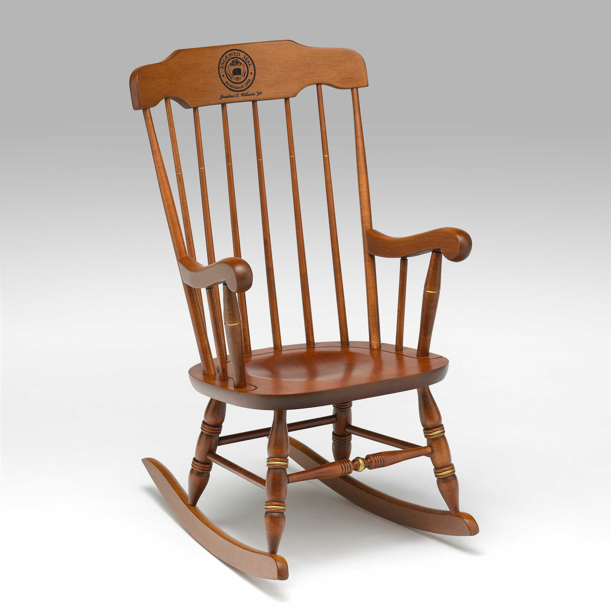 Rocking Chairs. Full resolution‎  snapshot, nominally Width 2040 Height 2040 pixels, snapshot with #7B4524.