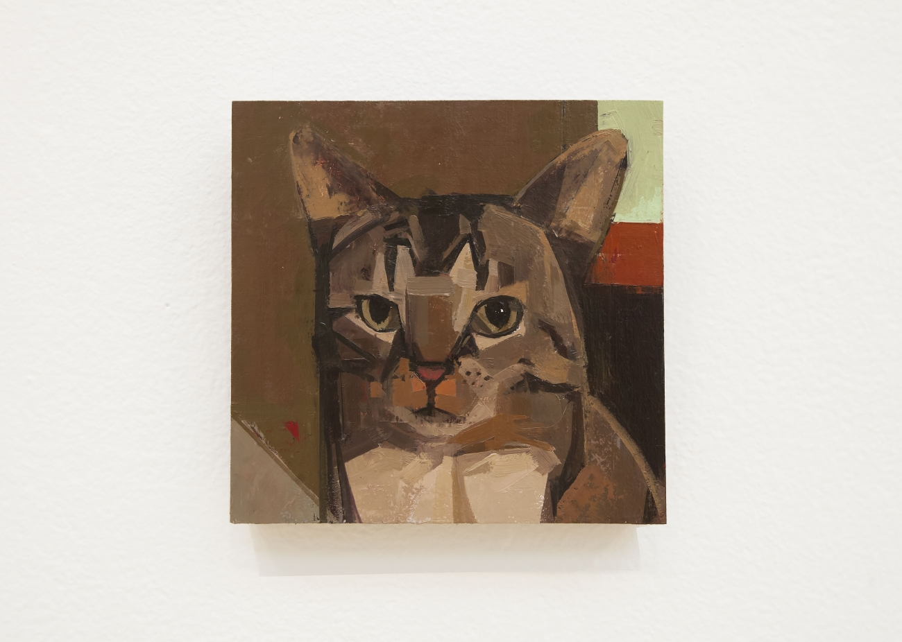 a cat painting by Catherine Kehoe