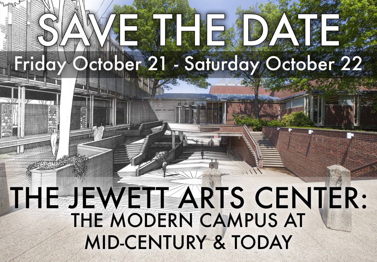 Save the Date Oct. 21-22 Jewett Symposium