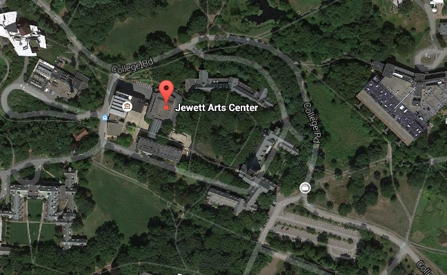 Jewett Arts Center on Google Maps