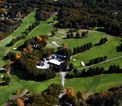 Bird's eye view of the golf course