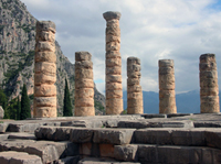 The Temple at Delphi