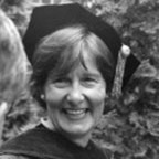 Nan Keohane in academic regalia