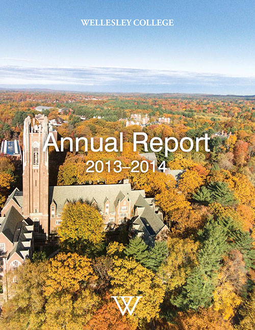 Wellesley College Annual Report 2013-2014