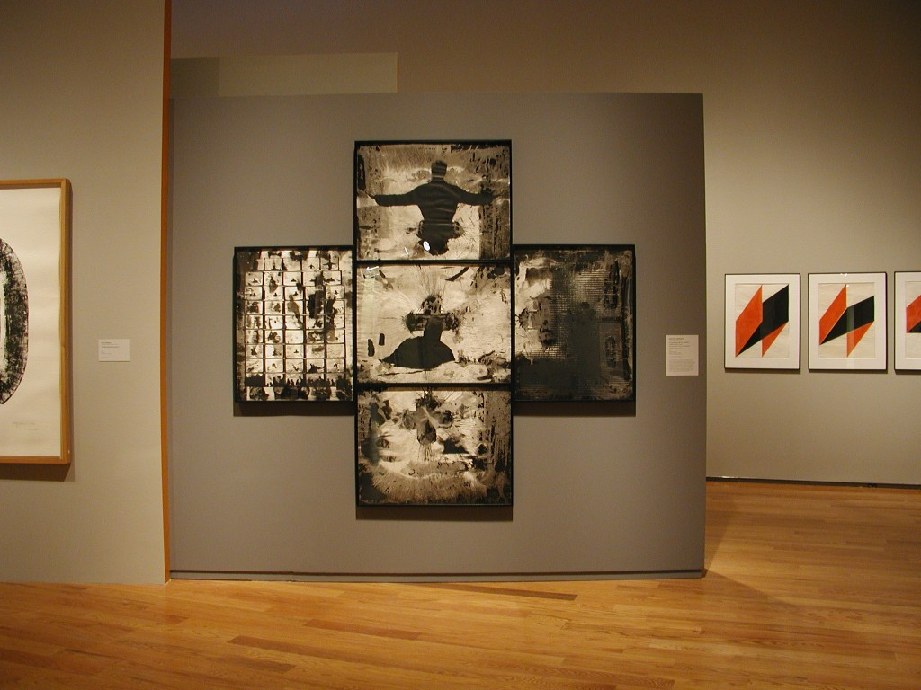 Installation view, Two and One: Printmaking in Germany, 1945 - 1990, 2003-2004.