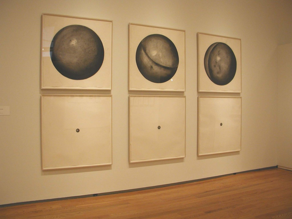 Installation view, Infinite Possibilities: Serial Imagery in 20th-Century Drawings, 2004.