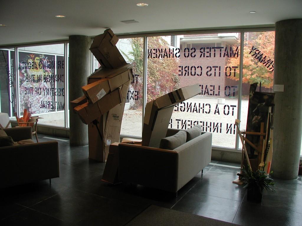 Installation view, Valery Koshlyakov, 2004-2005.